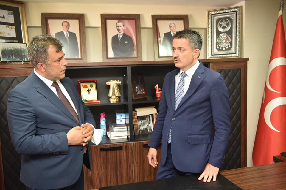 Bakan Pakdemirli'den, Taşköprü'ye destek