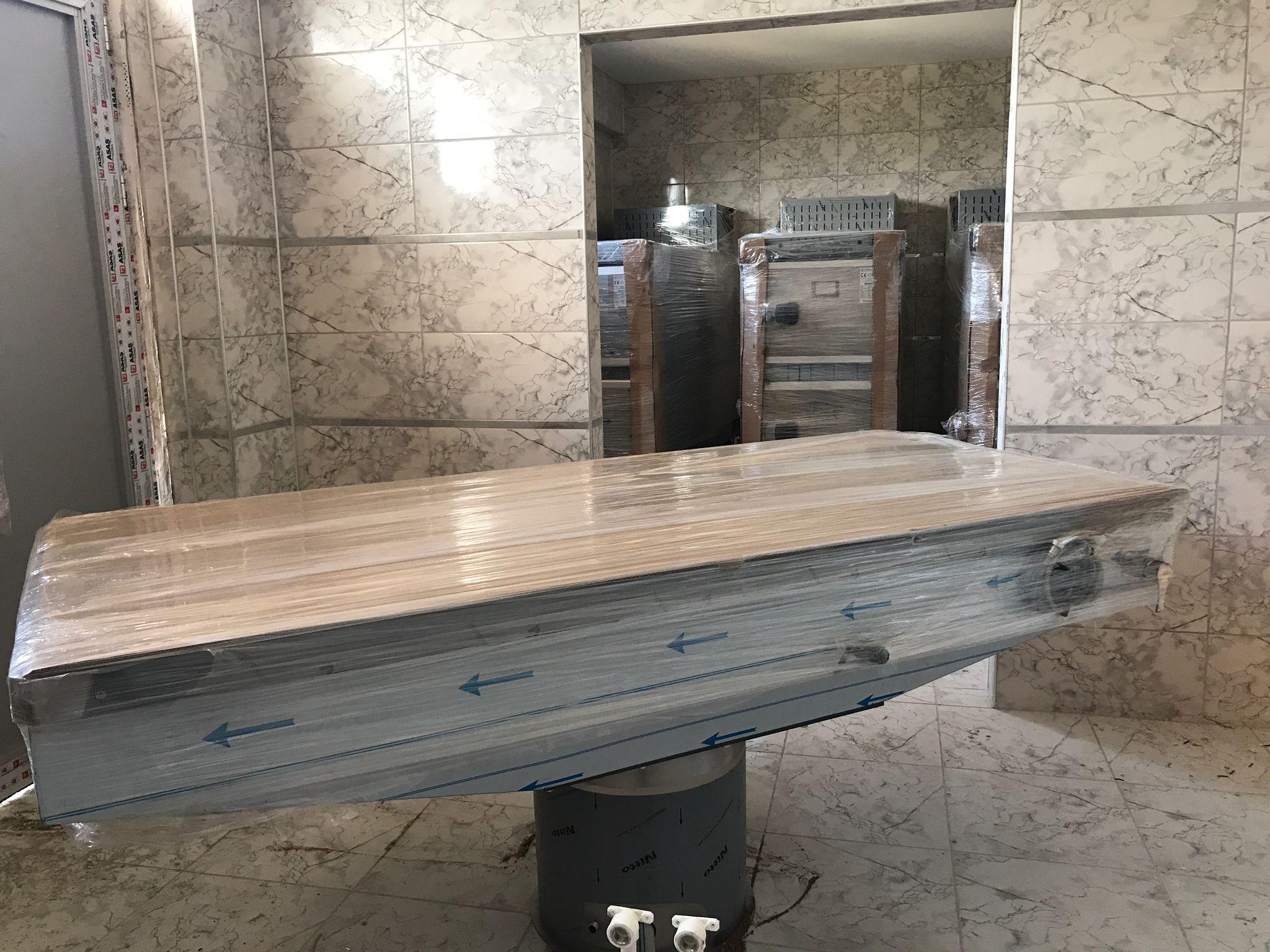 Cenaze Hizmetleri Binası'nda sona gelindi